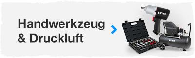 Handwerkzeug und Druckluft