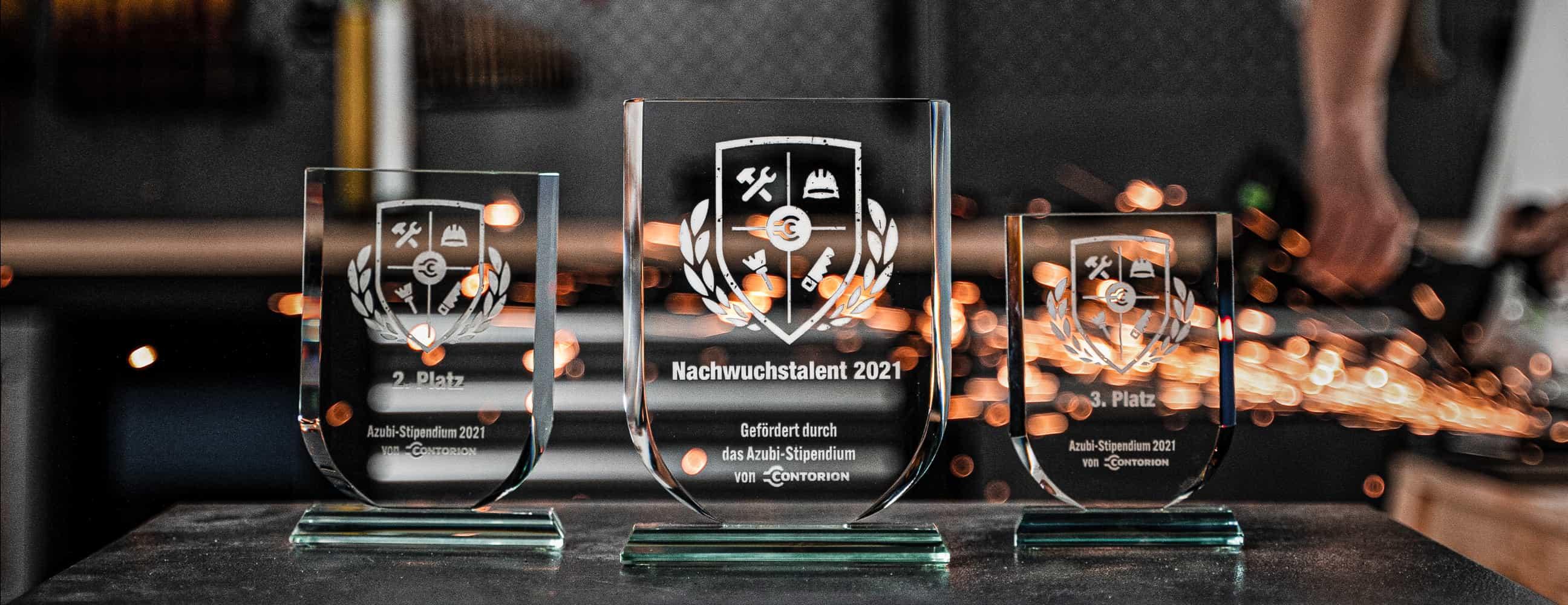 Contorion Azubi Stipendium Pokale 2021