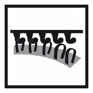 Bosch Schleifblatt C470, 6 Löcher, Klett, 93 mm, 40