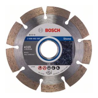 Bosch Diamanttrennscheibe Standard for Stone