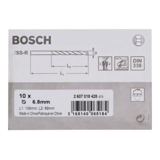 Bosch Metallbohrer HSS-R
