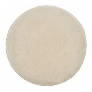 Lammwollhaube für Exzenterschleifer, 160 mm, Klett