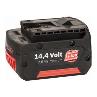 Bosch Einschubakkupack 14,4V-Standard Duty (SD) 2,6 Ah Li-Ion GBA M-C