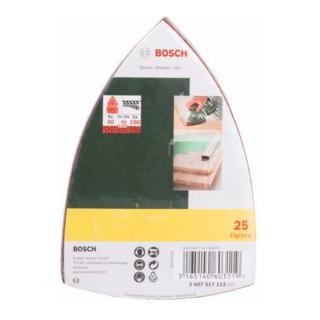 Bosch Schleifblatt-Set für Multischleifer