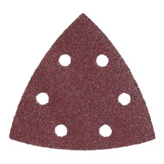 Metabo Dreieck-Schleifblatt Professional für Holz und Metall, 6 Löcher