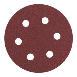 Metabo Exzenter-Schleifblatt Professional für Holz und Metall, 6 Löcher