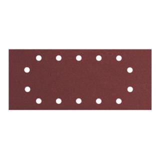 Metabo Schwing-Schleifblatt Professional für Holz und Metall, 14 Löcher, 10er-Pack, zum Spannen