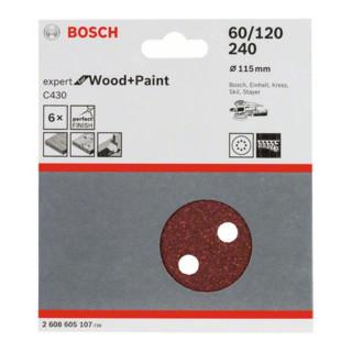 Bosch Schleifblatt C430 für Exzenterschleifer