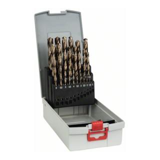 Bosch Metallbohrer-Set HSS-Co (Cobalt-Legierung), ProBox, DIN 338, 1-13 mm