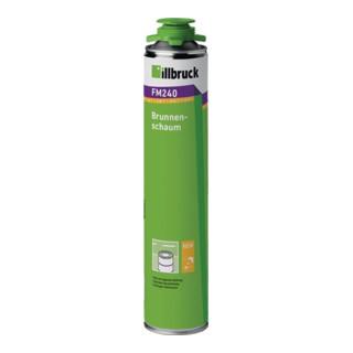 1K-Brunnenschaum B2 n.DIN 4102 Teil 1 750 ml B2 grün m.Einweghandschuhe ILLBRUCK