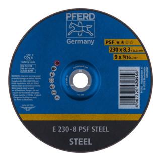 PFERD Schruppscheibe E 230-8 PSF STEEL