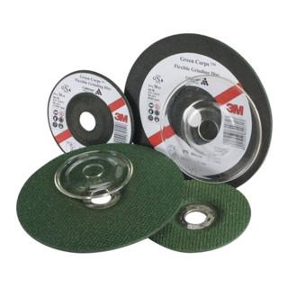 Schruppscheibe Green Corps™ D.125x3,0mm gekr. 22,23mm K. 36 3M