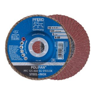 PFERD POLIFAN-Fächerscheibe PFC 125 A 60 SG STEELOX