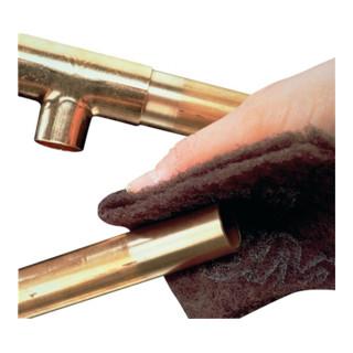 Schleifvlies-Handpad B.224xL.158mm medium CP-HP braun