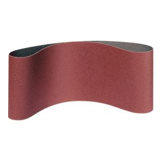 Klingspor Schleifband für Handbandschleifer LS 309 XH, LxB 75X533, Korn 80, F5