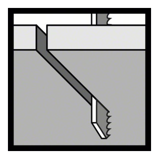 Bosch Stichsägeblatt T 118 AF, Flexible for Metal