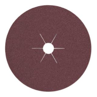 Klingspor Fiberscheibe CS 561, LxB 125X22, Korn 16, 30