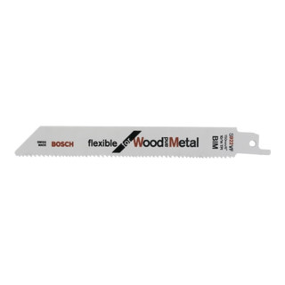 Bosch Säbelsägeblatt S 922 HF, Flexible for Wood and Metal