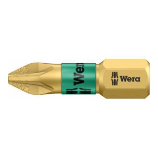Wera 855/1 BDC Pozidriv-Bits, PZ 1, Länge 25 mm