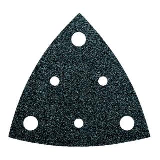 Fein Dreieck-Schleifblatt für Holz und Metall, 6 Löcher, 50er-Pack