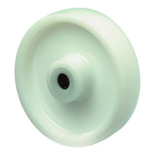 BS Rollen Kunststoffrad weiß Ø 125 mm