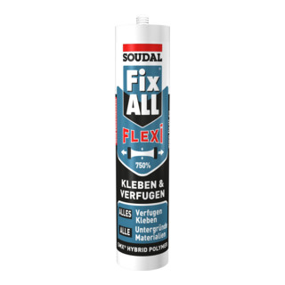 Soudal Montagekleber Fix ALL® Flexi weiss 470 g/290 ml