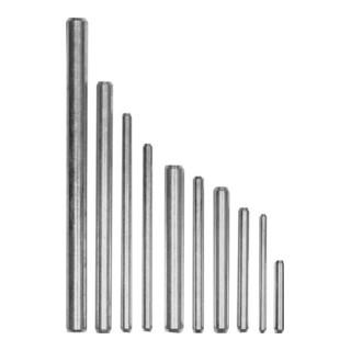 Stabdübel verzinkt 12x 80 mm