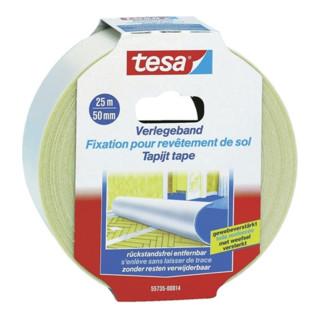Tesa Verlegeband 552729 Länge Breite 50mm beidseitig klebend