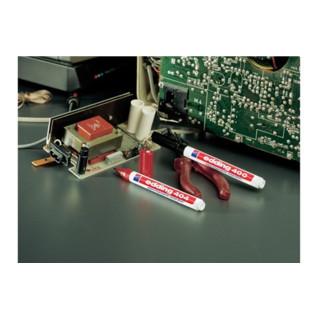 Permanentmarker EDDING 3000 rot Rundspitze Strichbreite ca.1,5-3mm