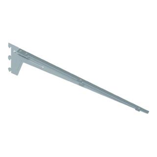 Winkelträger 10300 L.480mm p.Träger 65kg STA weißalu.m.3 Einhängehaken