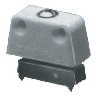 Hettich Trapezverbinder TZ 4 Unterteil mit Zacken Kunststoff und Stahl