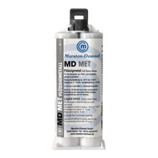 2K-Epoxyd-Flüssigmetall MD MET 50g Doppelkartusche MARSTON