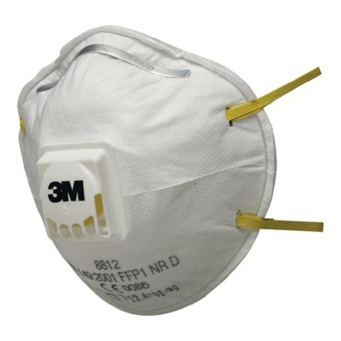 3M Atemschutzmaske 8812 FFP1NRD m.Ventil b.4xAGW-Wert EN149:2001+A1:2009