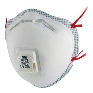 3M Atemschutzmaske 8833SV FFP-3 RD