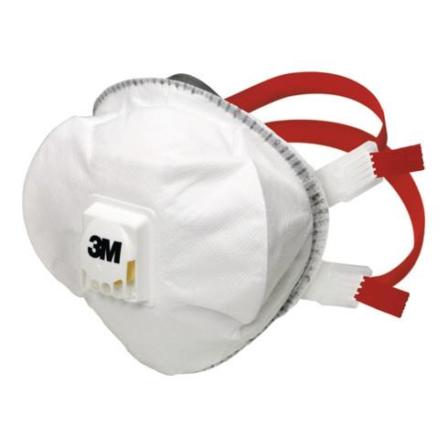 3M Atemschutzmaske 8835 FFP3RD m.Ventil b.30xAGW-Wert EN149:2001+A1:2009