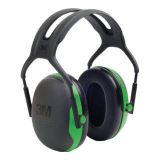 3M Gehörschutz Kapseln X1A schwarz/grün