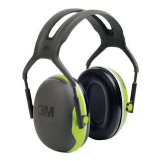 3M Gehörschutz Kapseln X4A fluoreszierend