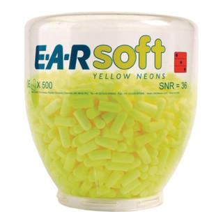 3M Gehörschutzstöpsel Ear Soft Yellow Neon Nachfülldispenser