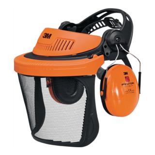 3M Gesichts-/Gehörschutz Kombination G5V5CH51 orange