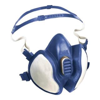 3M Lösemittelmaske 4251 FFA1P2RD mit 4-Pkt Kopfbebänderung