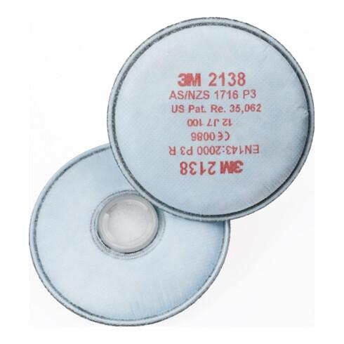 3M Partikelfilter mit Aktivkohle