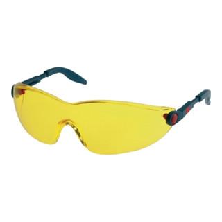 3M Schutzbrille 2742 mit PC-Scheiben gelb und einstellbarem Bügel