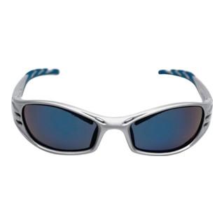 3M Schutzbrille Fuel mit PC-Scheiben blau verspiegelt