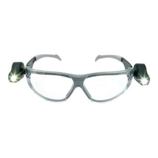 3M Schutzbrille LED Light Vision mit PC-Scheiben klar