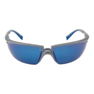 3M Schutzbrille Solus  mit PC-Scheiben blau verspiegelt