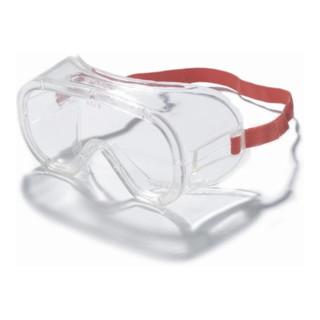 3M Schutzbrille UV  mit PC-Scheiben klar mit Seitenschutz und Gummiband