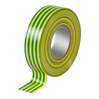 3M Temflex 1500 PVC-Isolierband 15mm×10m Y/G
