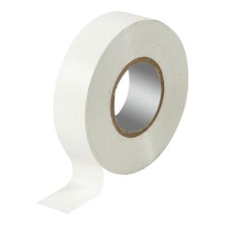 3M Temflex 1500 PVC-Isolierband 19mm×25m WHITE