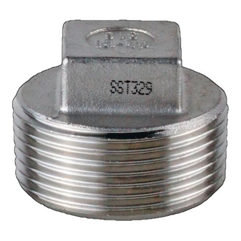 4-kant-Stopfen EN 10226-1 NPS 3/4 Zoll 4-kant 24mm SPRINGER