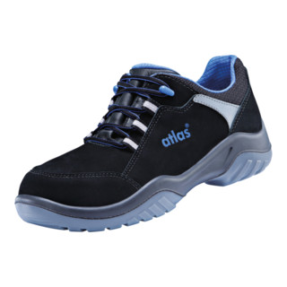 Sicherheitsschuh ergo-med 600 S2 C schwarz/blau Größe 44-12